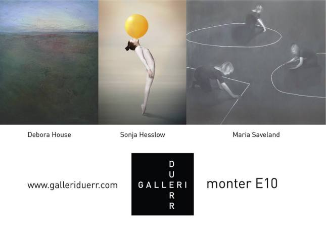 Debora House Sonja Hesslow Maria Saveland Galleri Duerr Affordable Art Fair Stockholm 2014