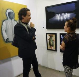 Maria Saveland Krigaren Procenter Sonja Hesslow Oaändlighetens näste Galleri Duerr Affordable Art Fair Stockholm 2014