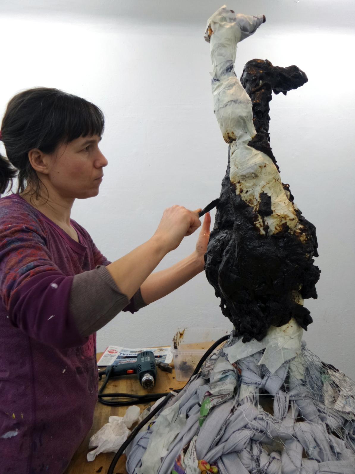 Alannah Robins Galleri Duerr A sculpture in liquorice Lakritsfestivalen2015
