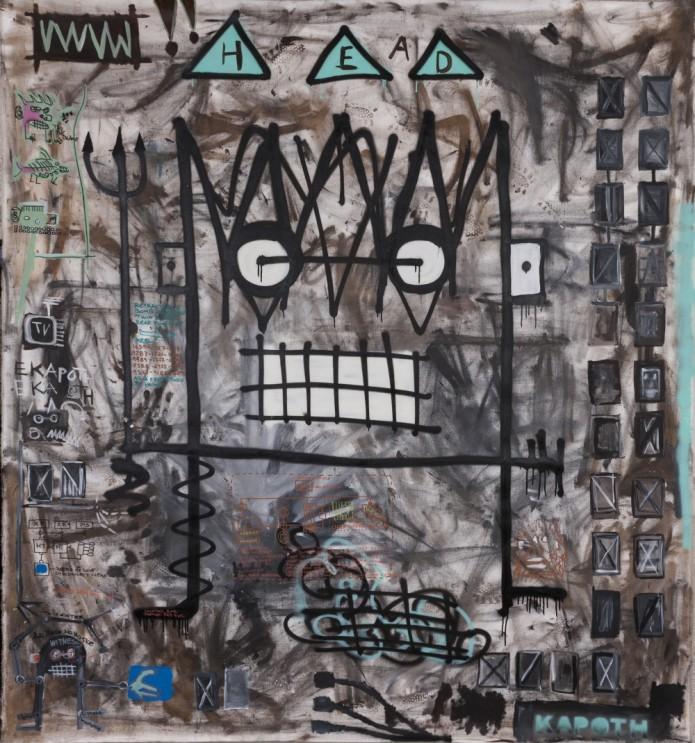 Kapoth King of f-ing everything Galleri Duerr Najdron Gallery