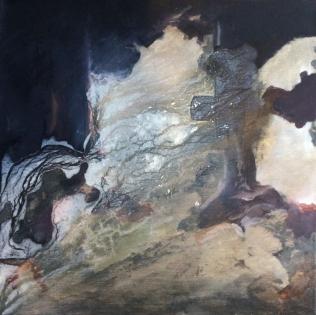 Shipwreck I, 2015. Oil on canvas. 50 × 50 cm.
