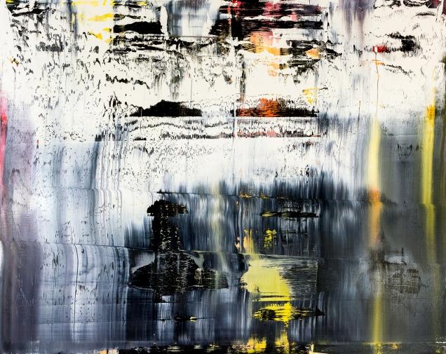 Gustav Hjelmgren. New York. Oil on canvas. 190 x 230 cm.