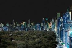 Cityscape NY, 2017. 110 x 165 cm.