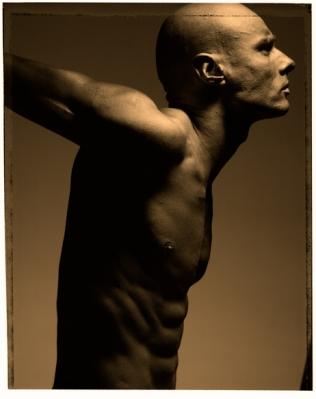 Körperkontrolle. 100 x 70 cm. Edition 7.