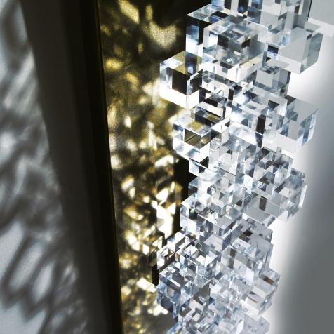 Giorgio Palù. Detail from 99 Cubes.